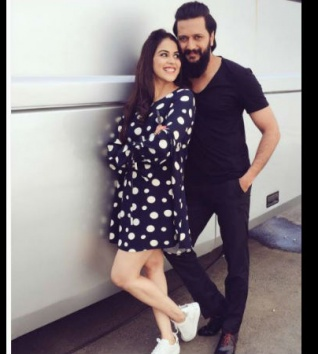 Funny! Riteish Feels That He Looks Like Genelia's Father