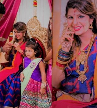 These Photos Of Rambha From Her Baby Shower Are Priceless!