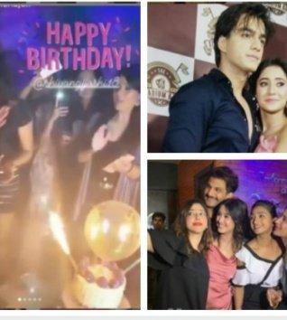 Shivangi Celebrates B'day With Her BF Mohsin, Surbhi & Other