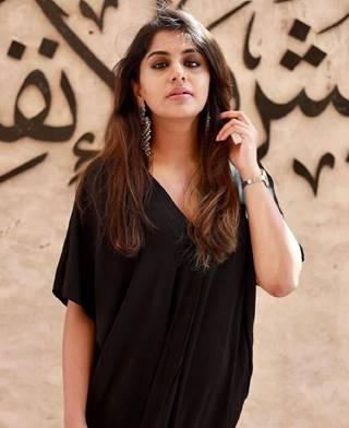 Beauty In Black 'Meera Nandan'