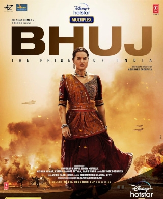 First Look Poster Of Sonakshi Sinha From Bhuj The Pride Of India