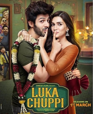 First Poster Of 'Luka Chuppi' Is Out!