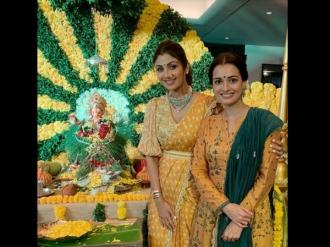 Dia Praises Shilpa For Going 'Green' This Ganesh Chaturthi!