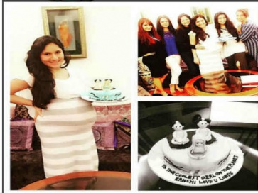 Look Who Hosted Surprise Baby Shower For Kanchi! (PICS)