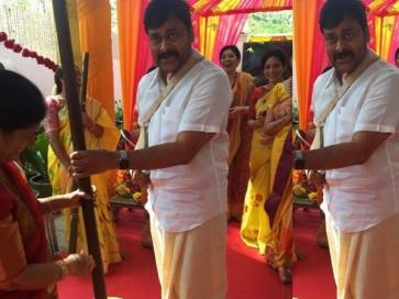 PICS: Chiru's Daughter Srija's Wedding Preparation Begins