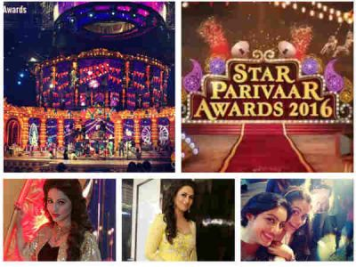 Hina, Divyanka, Anita At Star Parivaar Awards 2016; Devoleena, Deepika & Others To Perform-PICS