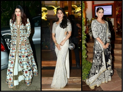 Sara Ali Khan Steals Aishwarya & Sonam's Thunder At Wedding!
