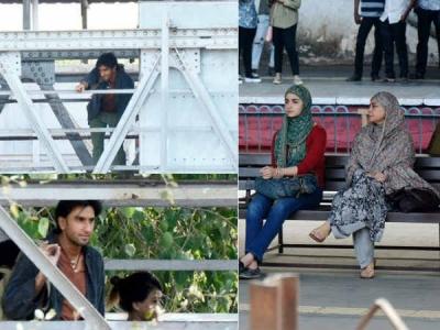 PICS: Ranveer Singh & Alia Bhatt Shoot For Gully Boy!