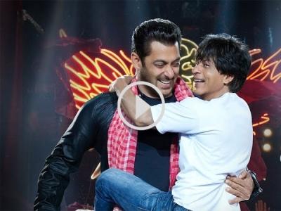 Shahrukh Khan BONDS With Salman Khan In Zero Teaser!
