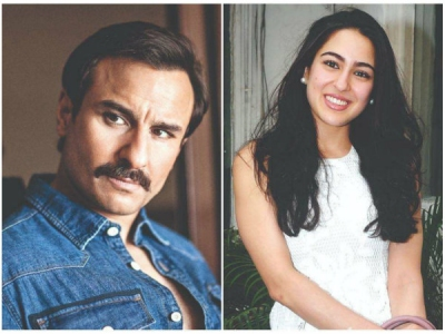 Saif Ali Khan To Team Up With Daughter Sara For A Movie?