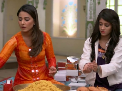 Is Hina Khan Shooting For YRKKH Before KZK 2?
