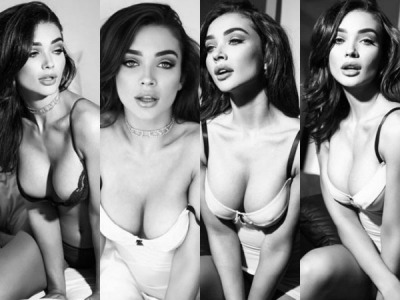 Amy Jackson Raises The Temperature In Her Latest Photoshoot!