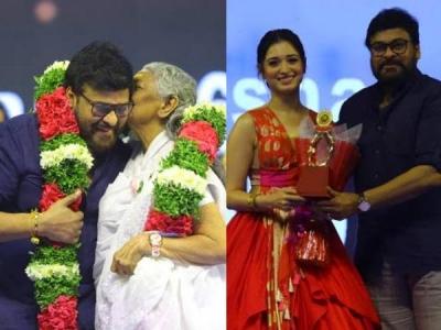 Santosham Awards 2018: Chiranjeevi & Others Attend The Event