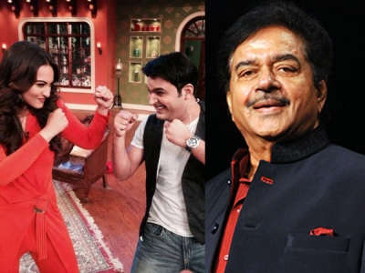 When Kapil Made Fun Of Shatrughan Sinha On His Show!
