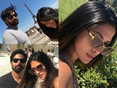 Riya Sen Holidays In Paris With Husband Shivam Tewari! Pics