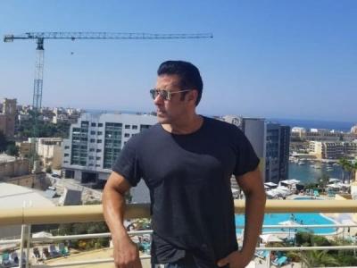 Salman Begins Shooting For Bharat In Malta