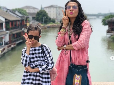B'day Gal Mini Mathur Explores China With Daughter Sairah!