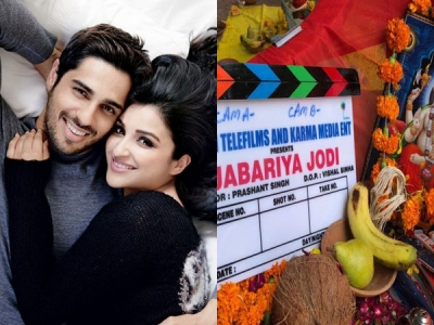 Sidharth Malhotra & Parineeti Chopra Are 'Jabariya Jodi'
