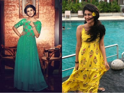 Priya Looks Cute And Elegant In These Awesome Photos!
