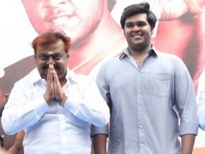 Fans Wish Vijayakanth On His Birthday!