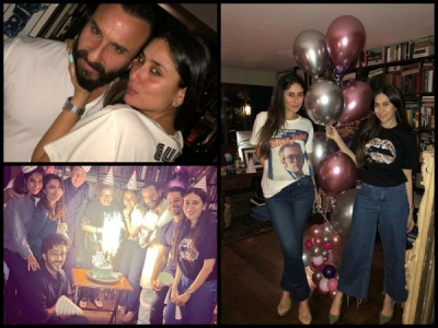 Inside Pics From Kareena's  Midnight Birthday Celebration!