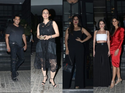 Katrina, Isbaelle, Salman & Others Snapped At Club!