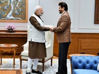'Jhakaas' Actor Anil Kapoor Meets PM Modi
