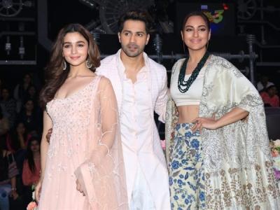Alia, Varun & Sonakshi Promote Kalank At Super Dancer 3