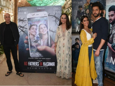 Pics: No Fathers In Kashmir Trailer Release; Notebook Promos
