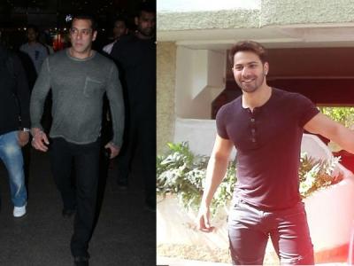 Salman Looks Like A Boss At Airport; Varun At Dance Studio