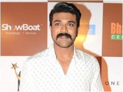 Ram Charan Avoids A  Tough Question About Sye Raa!