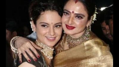 Rangoli Chandel Calls Kangana Ranaut A 'Wannabe' Rekha!