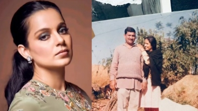 Kangana Shares Favourite Throwback Pic Of Her Parents