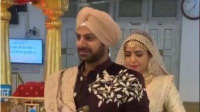 Karan Veer Mehra Ties The Knot With Nidhi V Seth