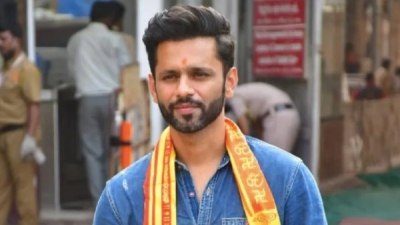 Rahul Vaidya Seeks Blessing At The Siddhivinayak Temple