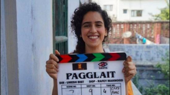 Sanya Malhotra Begins Shooting For Her Next Film 'Pagglait'