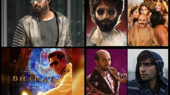 Most-viewed Bollywood Trailers Of 2019!
