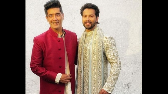 Varun Dhawan Gets Decked Up By Manish Malhotra In This Video