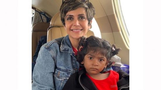 Mandira Bedi Celebrates Her Daughter Tara's 5th Birthday