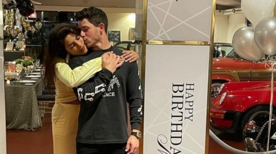 Priyanka Showers Nick With Love On His 29th Birthday
