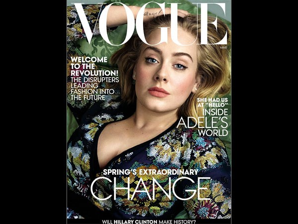 Adele Looks Gorgeous As She Graces The Magazine Cover!