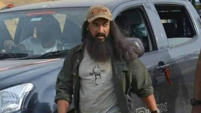 Aamir Khan's New Look From Laal SinghChaddha!