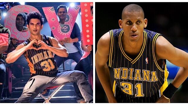 NBA's Reggie Miller Reacts To Sushant In Dil Bechara Song