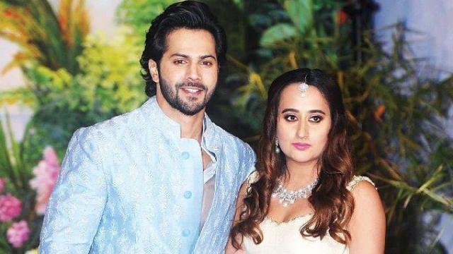 Varun Asks Paparazzi Not To Scare His Wife Natasha