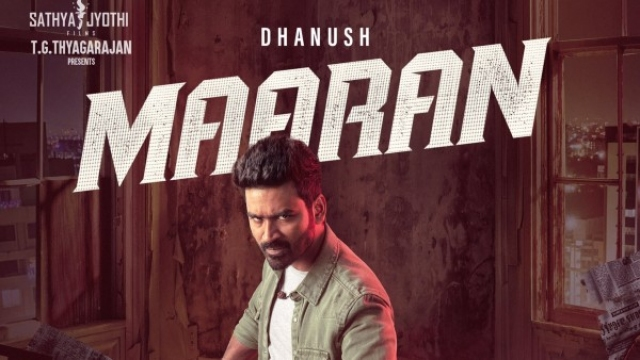 Dhanush's D 43 Is Now Maaran