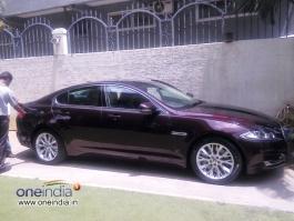 Priyanka Upendra Gifts Jaguar Car to Upendra on his Birthday Photos - FilmiBeat