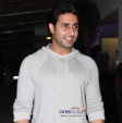 Abhishek Bachchan at Special Screening of Madras Cafe