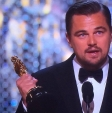 Leonardo DiCaprio Wins Oscar 2016 For Best Actor