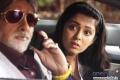 Amitabh Bachchan and Charmy Kaur