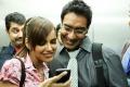 Shazahn Padamsee and Ajay Devgn